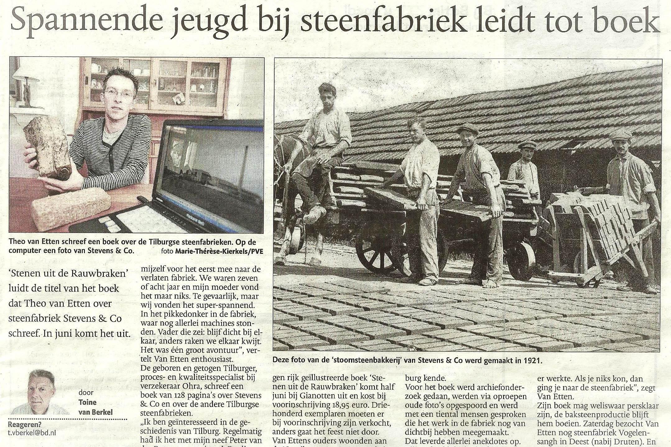 Krantenartikel 2011